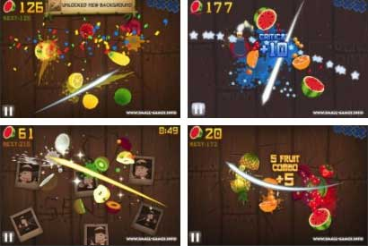 Fruit Ninja V 1.7 screenshot